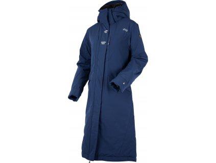 Kabát zimní jezdecký Urban Stretch UHIP, dámský, navy blue