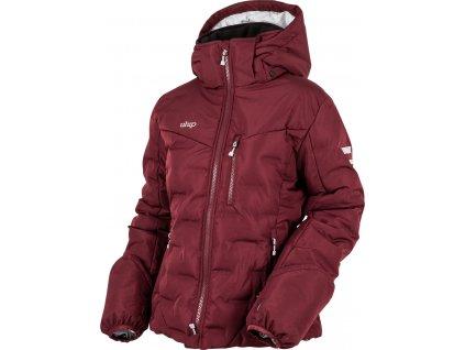Bunda zimní jezdecká Ice UHIP, dámská, zinfandel red