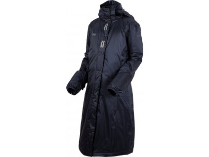 Kabát jezdecký nepromokavý Regular Sport UHIP, dětský, navy blue