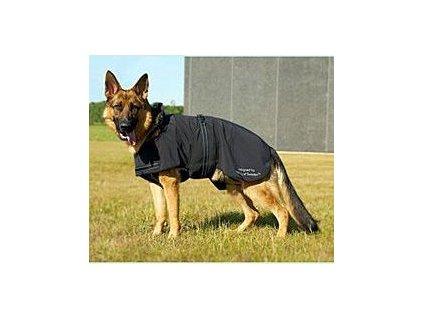 Obleček rehablitační Dog Blanket Softshell KRUUSE, 25cm, černý