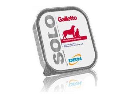SOLO Galleto 100% (kohoutek) vanička, 100g
