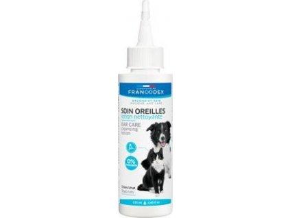 Roztok čistící na uši Francodex, pes/kočka, 125ml