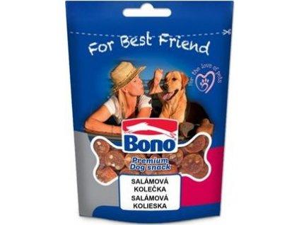 Pochoutka pro psy salámová kolečka Bono, 100g