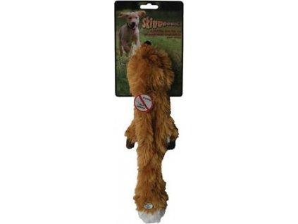 Hračka pro psy Liška pískací Skinneeez, 61cm