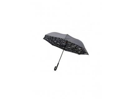 parapluie paris noir de ajs blackfox chaussant chapeau parapluie de bordeaux gironde