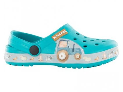 Pantofle Clogsy Farmer BLACKFOX, dětské, blue