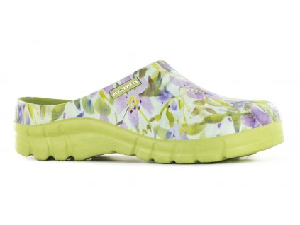 lily sabot vert cote
