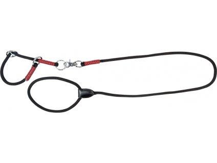 Set vodítka a obojku pro psy String PFIFF, black/red