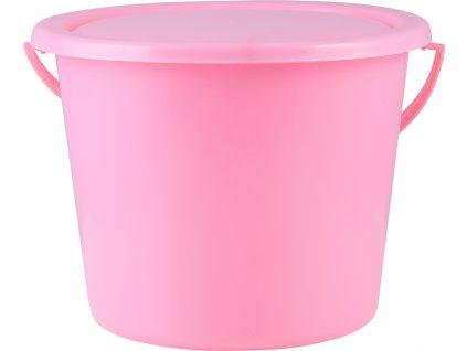 Kýbl s víkem 4l PFIFF, pink