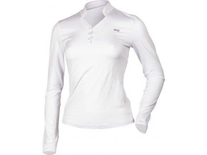 Tričko Technical s dlouhým rukávem UHIP, dámské, bílé