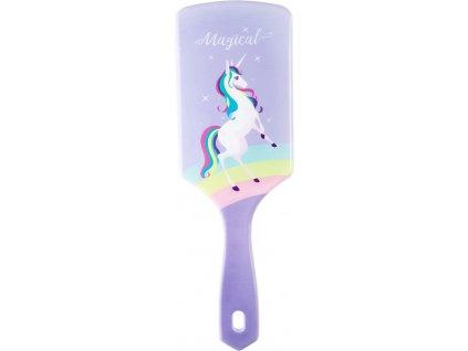 Hřeben unicorn PFIFF, lila
