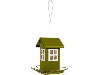 Krmítko kovové House Zolux, green