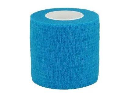 Bandáž samolepicí CVET, 5cmx4,5m, modrá, 1ks