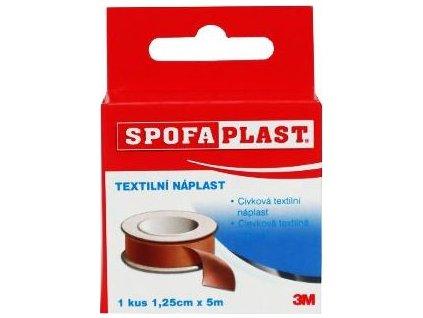 Náplast fixační Spofaplast Galmed, 1,25cmx5m