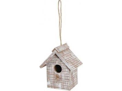Budka hnízdící dřevěná Caribou house Zolux, beige