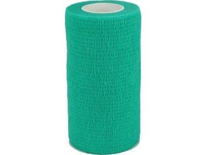 Obinadlo elastické CVET, 10cmx4,5m, zelené, 1ks