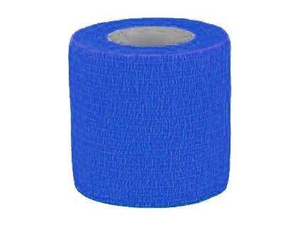 Bandáž samolepicí CVET, 5cmx4,5m, blue, 1ks