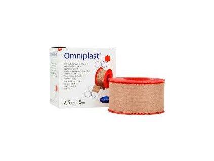 Náplast Omniplast, 2,5cmx5m