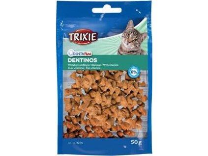 Pochoutka pro kočky Trixie DENTINOS, 50g
