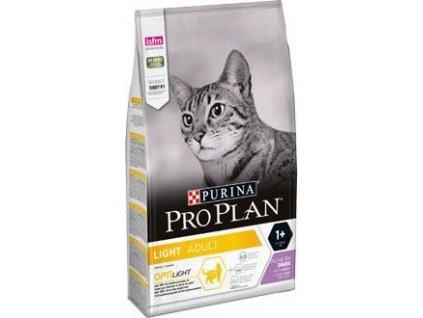 Granule pro kočky Light Turkey ProPlan, 3kg