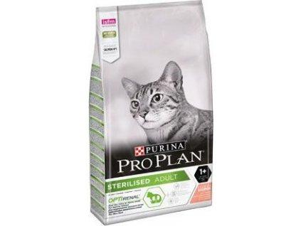Granule pro kočky Sterilised Salmon ProPlan, 10kg