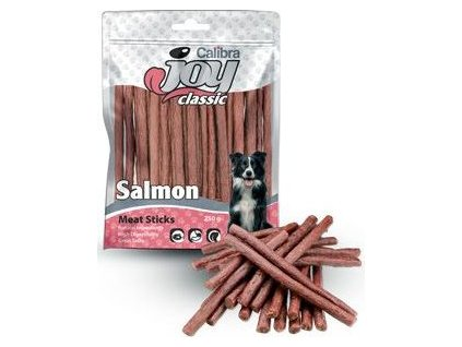 Pochoutka pro psy Calibra Joy Dog Classic Salmon Sticks, 250g