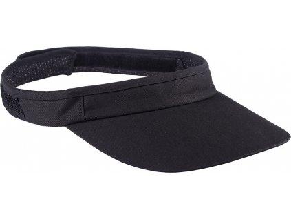 Kšilt na helmu QHP, černý