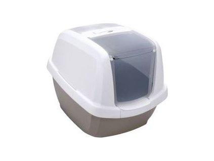 Toaleta pro kočky s filtrem a lopatkou IMAC, gray