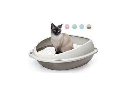 Toaleta pro kočky Shuttle, 57cm,různé barvy
