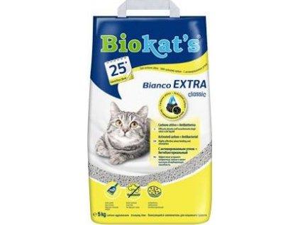 Podestýlka Bianco Extra Biokat's, 5kg