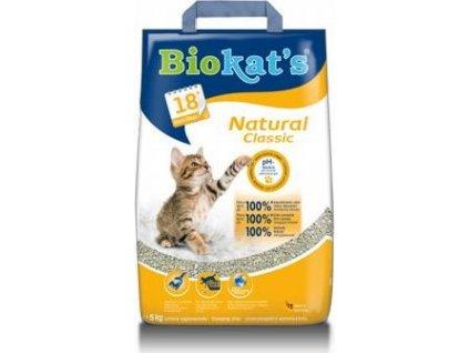 Podestýlka Biokat's Natural, 5kg