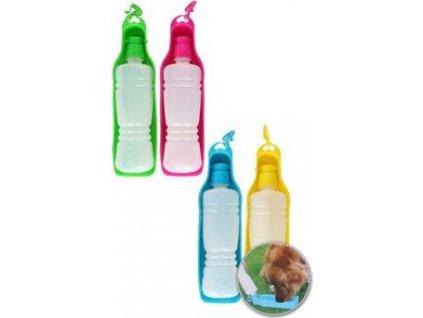 Miska, láhev 2v1 na vodu pro psy PetGift, 450ml