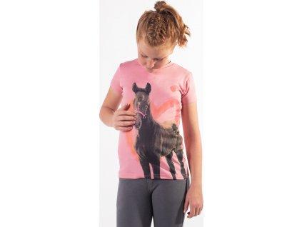Tričko Iris QHP, dětské, blossom