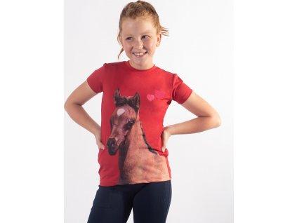 Tričko Iris QHP, dětské, red