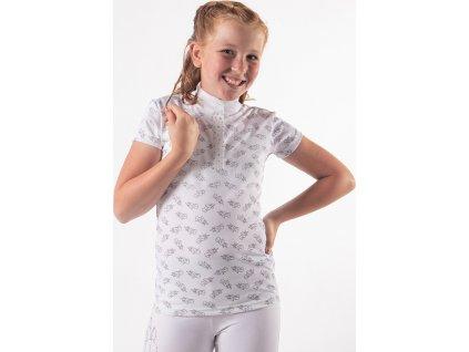 Tričko Jade QHP, dětské, bílé