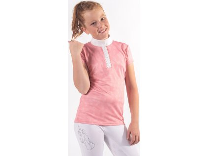 Tričko Jade QHP, dětské, blossom