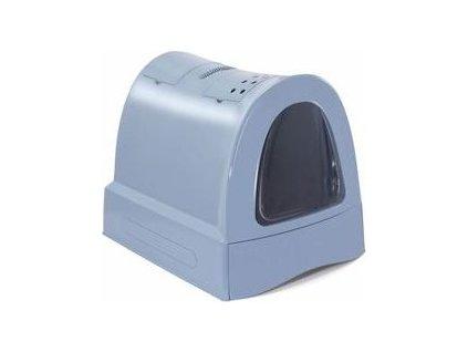 Toaleta pro kočky s výsuvnou zásuvkou IMAC, blue