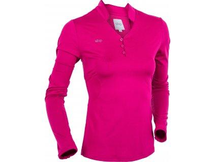 Triko Technical s dlouhým rukávem UHIP, dámské, cherrie pink