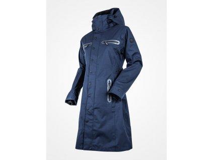 Kabát nepromokavý Mid Trench UHIP, dámský, navy