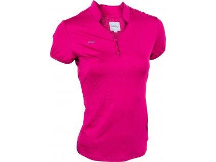 Tričko Technical s krátkým rukávem UHIP, dámské, cherrie pink