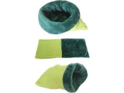 Spací pytel 3v1 mini, light green/dark green