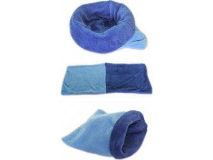 Spací pytel 3v1, mini, light blue/dark blue