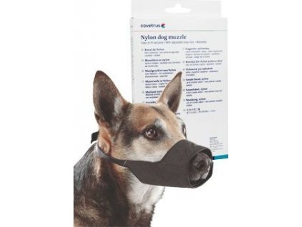 Náhubek fixační pro psy Covetrus, vel. 2, černý