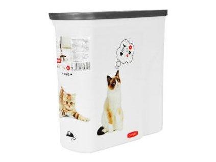 Kontejner na suché krmivo pro kočky Curver, 2l