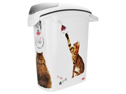 Kontejner na suché krmivo pro kočky Curver, 23l/10kg