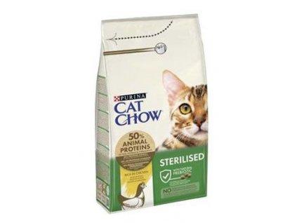 Granule pro kočky Chow Special Care Sterilized Purina, 1,5kg