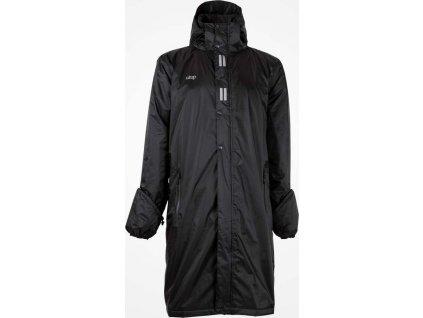 Kabát jezdecký nepromokavý Regular Sport UHIP, pánský, černý