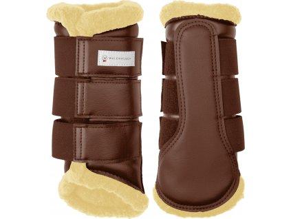 Kamaše přední/zadní Soft Waldhausen, drezurní, brown/beige