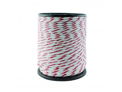 0019717 corda elettrica superior biancorossa 6mm 200