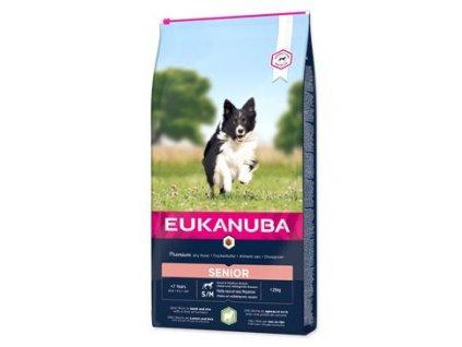 Granule pro psy Senior Small&Medium Lamb&Rice Eukanuba, 2,5kg